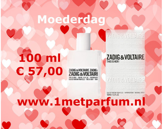 Zadig & Voltaire This Is Her spray 100ml
