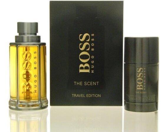 Hugo Boss The Scent Travel Edition 100ml EdT Spray + 75ml Deodorant Stick