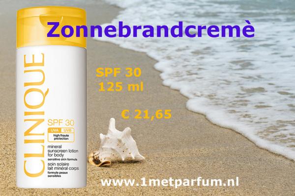 Clinique Mineral Suncreen for body SPF30 125ml